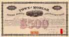 Whitehall and Plattsburg Railroad - Manhattan Company - Town of Moriah