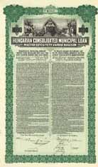 Hungarian Consolidated Municipal Loan