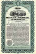 Pittsburgh & Susquehanna Railroad