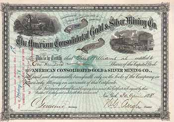 American Consolidated Gold & Silver Mining Co.