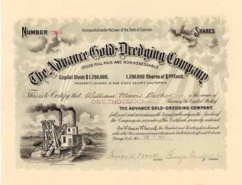 Advance Gold-Dredging Co.