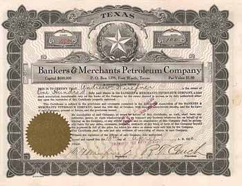 Bankers & Merchants Petroleum Co.