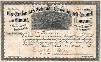 California & Colorado Consolidated Tunnel and Mining Co.