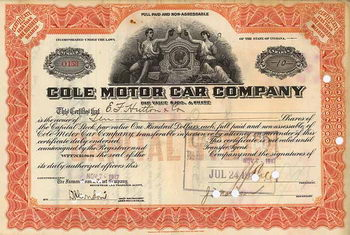Cole Motor Car Co.