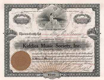Kiddies Music Society
