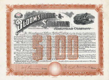 Bloomsburg & Sullivan Railroad