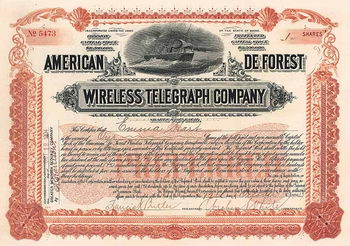 American de Forest Wireless Telegraph Co.