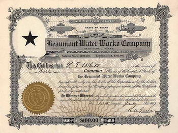 Beaumont Water Works Co.