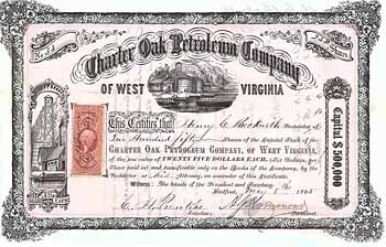 Charter Oak Petroleum Co. of West Virginia