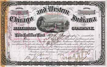 Chicago & Western Indiana Railroad (Consolidated Stock)