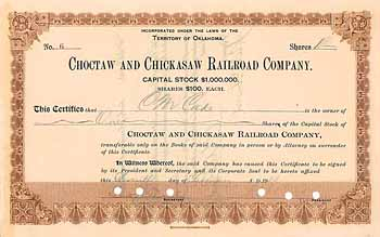 Choctaw & Chickasaw Railroad