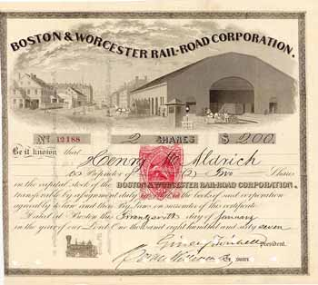 Boston & Worcester Railroad