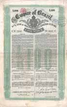 Empire of Brazil 4 1/2 % Loan of 1888