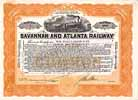 Savannah & Atlanta Railway